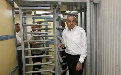Yitzhak Aharonovich (photo credit: Nati Shohat/Flash90)