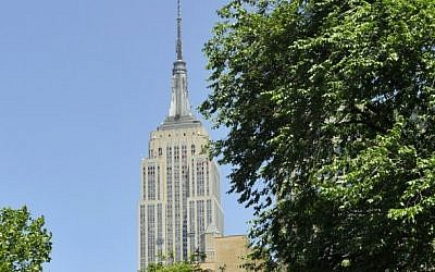The Empire State Building. (Serge Attal / Flash90)