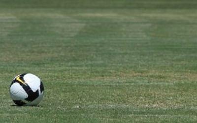 A soccer pitch (illustrative photo: Nati Shohat/Flash90)