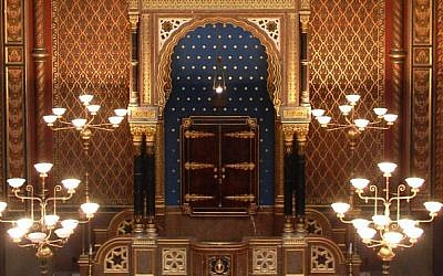 The Spanish Synagogue in Prague (photo credit: Rachael Cerrotti/Flash90)