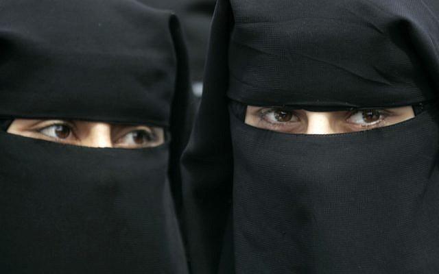 Illustrative photo of Palestinian women in the Gaza Strip town of Rafah (photo credit: Abed Rahim Khatib/Flash90)