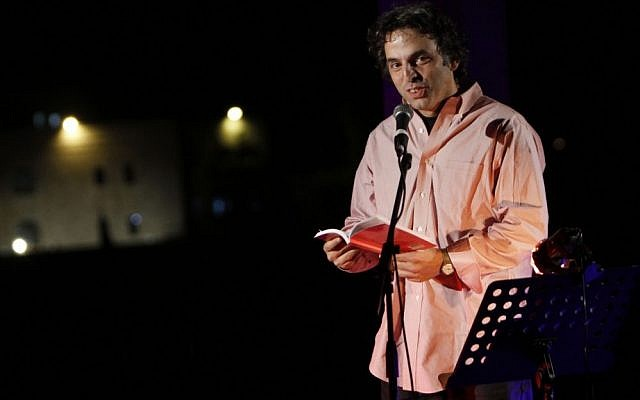 Etgar Keret at the 2011 International Writers' Festival (photo credit: Miriam Alster/Flash 90)
