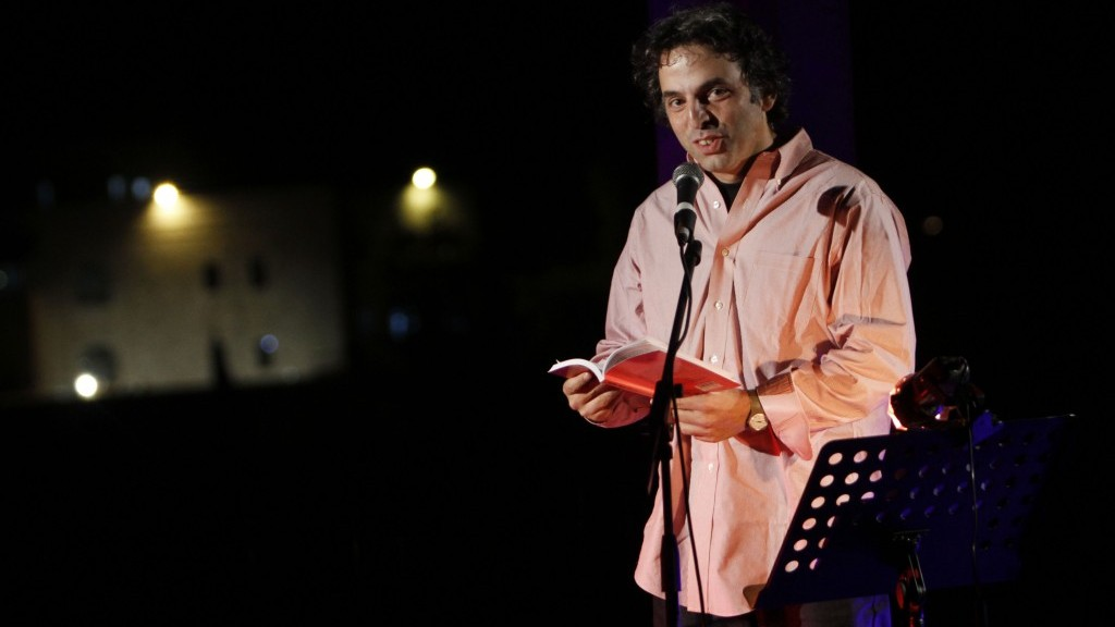 Etgar Keret at the last Writers Festival (photo credit: Miriam Alster/Flash 90)