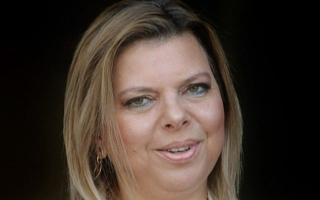 Sara Netanyahu, wife of Prime Minister Benjamin Netanyahu. (photo credit: Kobi Gideon/Flash90)