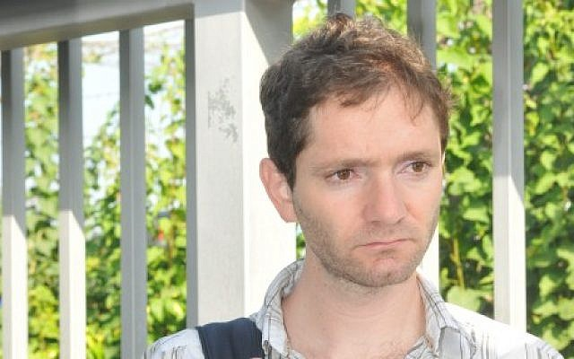 Journalist Uri Blau charged with holding classified material that threatened state security. (photo credit: Yossi Zeliger/Flash90)
