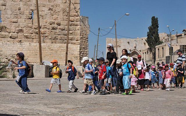 Children. They reign supreme in Israel. (photo credit: Sophie Gordon/Flash 90)
