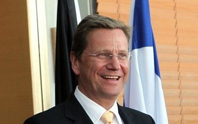 German Foreign Minister Guido Westerwelle (photo credit: Yossi Zamir/Flash90)