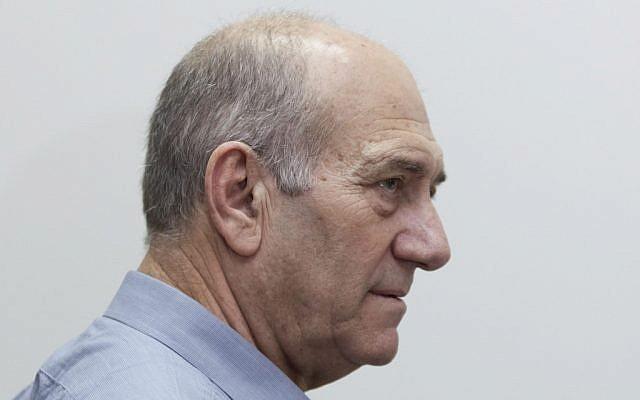 Ehud Olmert (photo credit: David Vaaknin/ pool/Flash90)