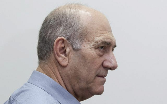 Former prime minister and mayor of Jerusalem Ehud Olmert (photo credit: David Vaaknin/Flash9)