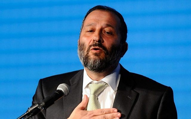 Shas chairman Aryeh Deri (photo credit: Yossi Zeliger/Flash90)