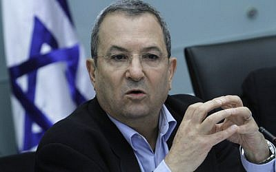 Defense Minister Ehud Barak has condemned the carnage in Syria (photo credit: Miriam Alster/Flash90)