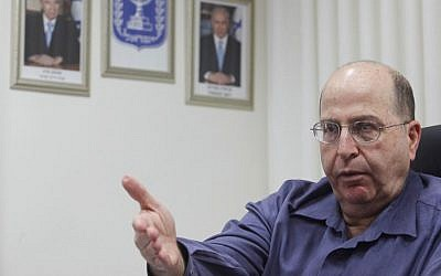 Vice Prime Minister and Strategic Affairs Minister Moshe Ya'alon (photo credit: Miriam Alster/Flash90)