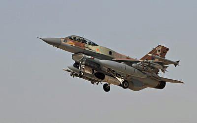 An Israel Air Force F-16 (photo credit: Ofer Zidon/Flash90)