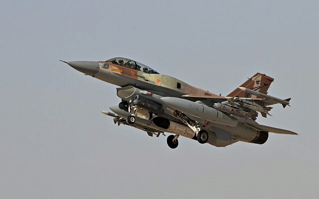 An Israel Air Force F-16 (photo credit: Ofer Zidon/Flash90)