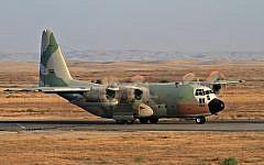 Israeli air force Lockheed C-130 Hercules. June 28 2011 (Ofer Zidon/Flash90)