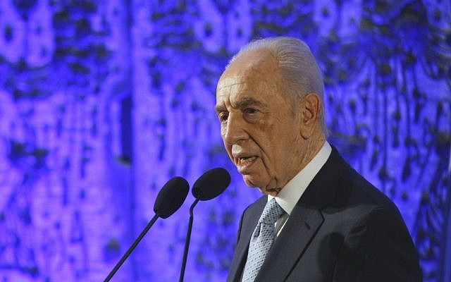 Israel president Shimon Peres (photo credit: Yonathan Sindel/Flash90)
