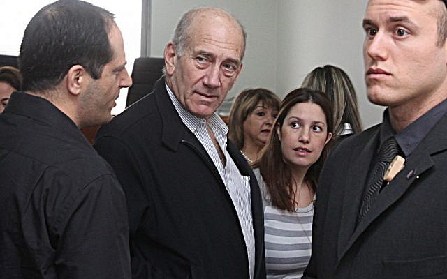 Former prime minister Ehud Olmert (photo credit: Yossi Zamir/Flash90)