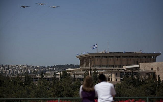 The Knesset, which may see early elections soon (photo credit: Yonatan Sindel/Flash90)