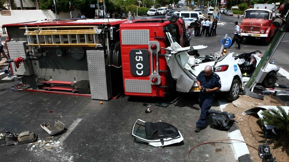 Fatal crash in Cornwall involving firetruck