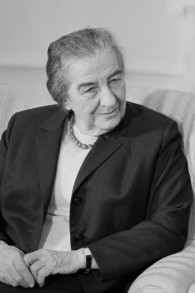 Golda Meir (photo credit: Wikimedia Commons)