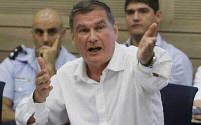 Haim Ramon in the Knesset in 2010. (photo credit: Miriam Alster/Flash90)