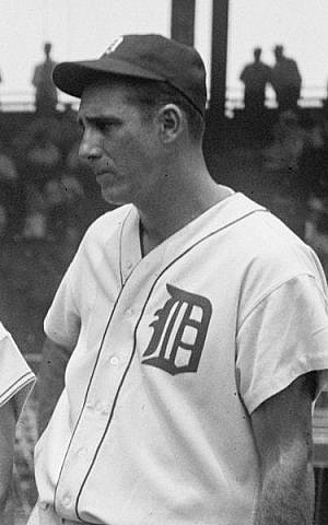 Legendary Jewish Detroit Tiger Hank Greenberg in 1937 (Courtesy: Library of Congress)