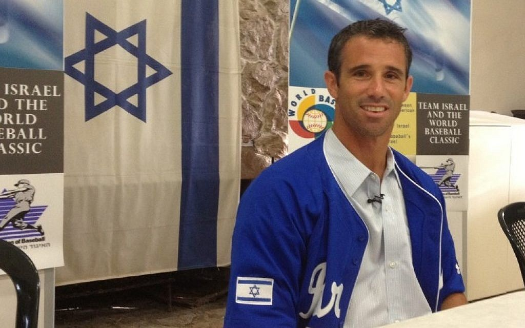 Former Major Leaguer Brad Ausmus in Israel as part of his post as coach of the Israeli team for the World Baseball Classic tournament. (photo credit: Michal Shmulovich)