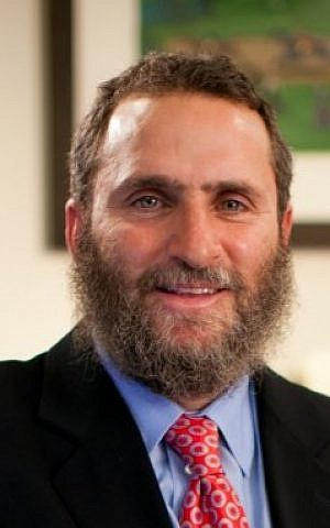 Rabbi Shmuley Boteach being reflective. (photo credit: Courtesy)