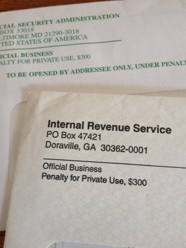 The tax man cometh the times of israel the dreaded irs envelope photo credit jessica steinberg sciox Image collections