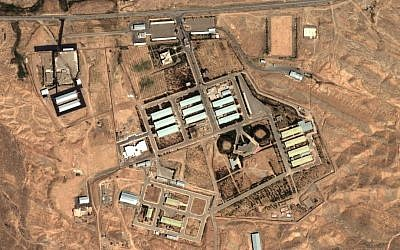 Satellite image of the Parchin facility, April 2012 (AP/Institute for Science and International Security)