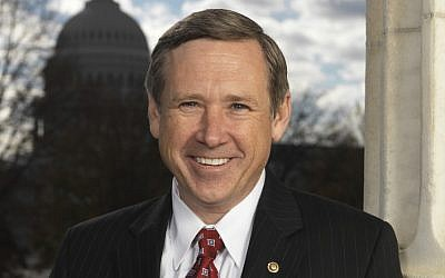US Senator Mark Kirk (R-IL) introduced an amendment to redefine how the US defines Palestinian refugees (photo credit: Courtesy Sen. Mark Kirk's office)