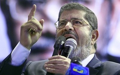 Mohammed Morsi (photo credit: Amr Nabil/AP)