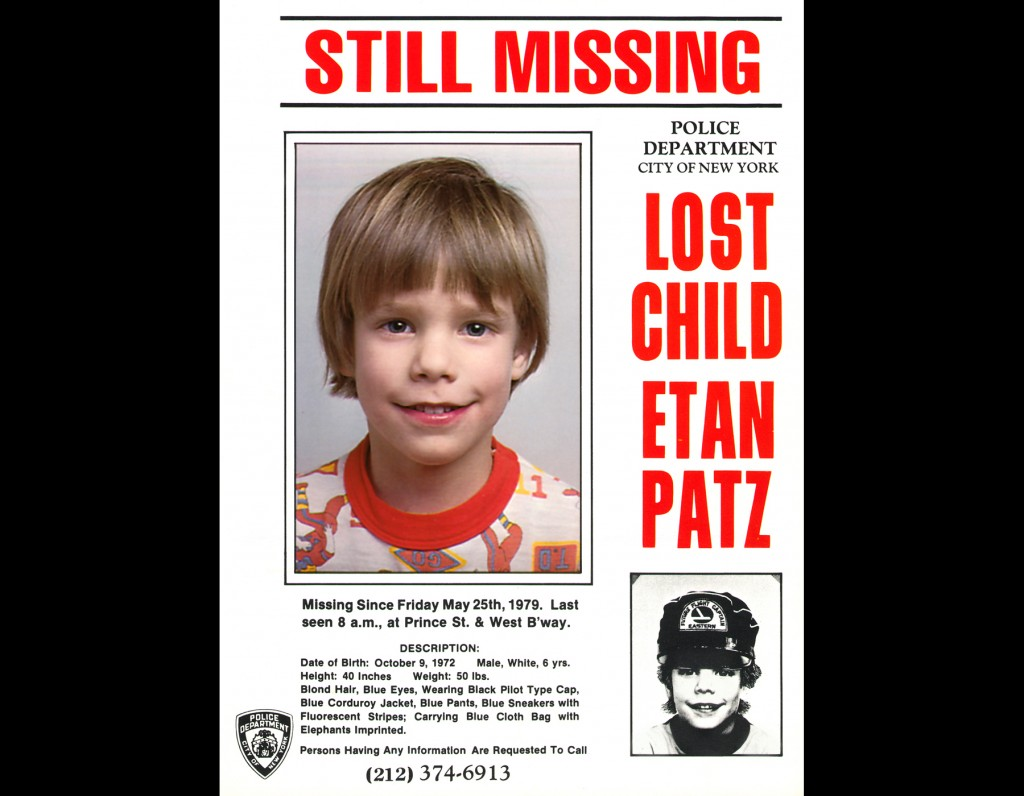 Arrest Made in the Etan Patz Missing Child Case 33 Years Later