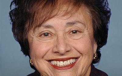 Rep. Nita Lowey (NY), senior Democrat on Foreign Operations subcommittee of the U.S. House of Representatives Appropriations Committee (photo credit: Online Guide to House Members and Senators)