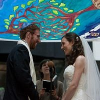 The frequency of interfaith weddings has convinced even many Orthodox Jews to revise their approach to couples of mixed background. (Illustrative photo courtesy of Ashley Novack/JTA)