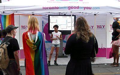 Pride Toronto 2010. (photo credit: CC-BY-SA/Patrick Dinnen/via Flickr)