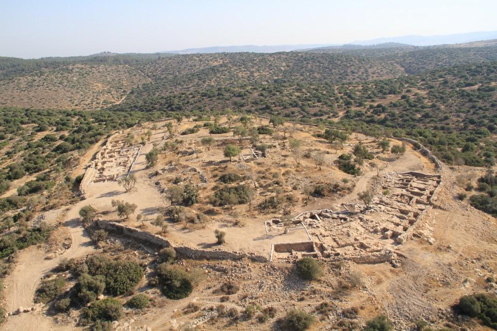 Biblical landing site