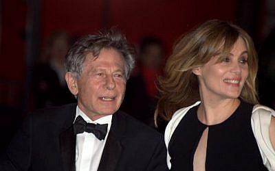 Roman Polanski and wife Emmanuelle Seigner in 2011. (Photo credit: Georges Biard, CC, Wikipedia)