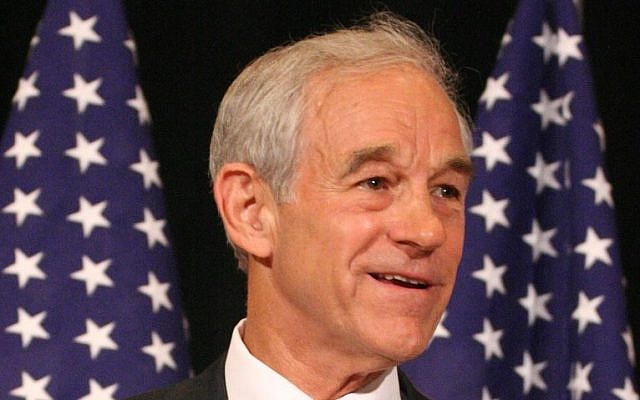 Former Republican candidate Ron Paul. (photo credit: CC-BY/Richard DeYoung, richard.deyoung@gmail.com)