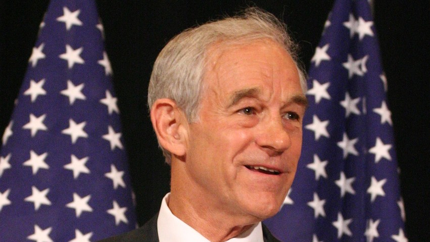 Ron Paul Tweeted An Anti-Semitic, Racist Cartoon