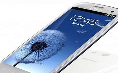 Samsung Galaxy S3 (Photo credit: Courtesy)