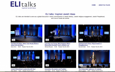 Image capture of the ELI talks website (www.elitalks.org)