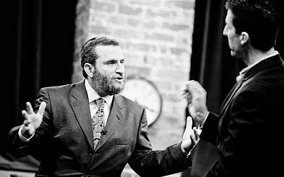 Throughout his career, Rabbi Boteach has debated everyone from Richard Dawkins to Rosie O'Donnell (Photo credit: Courtesy shmuley.com)