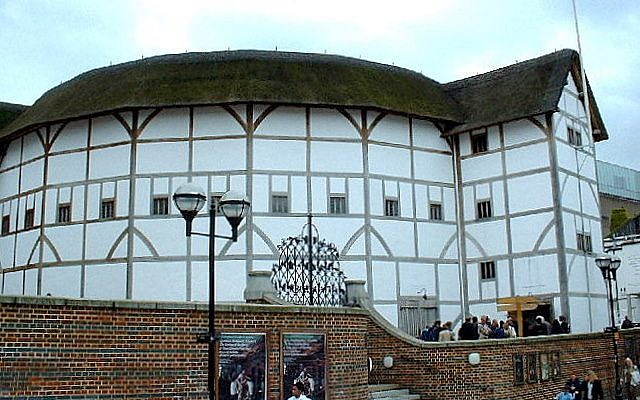 Shakespeare's Globe theater in London (photo credit: Wikimedia Commons)