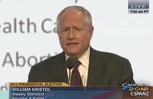 The Weekly Standard Editor Bill Kristol. (Courtesy: American Jewish Committee)
