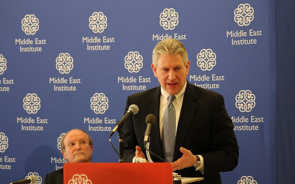 Robert Wexler (photo credit: Courtesy of the Middle East Institute)