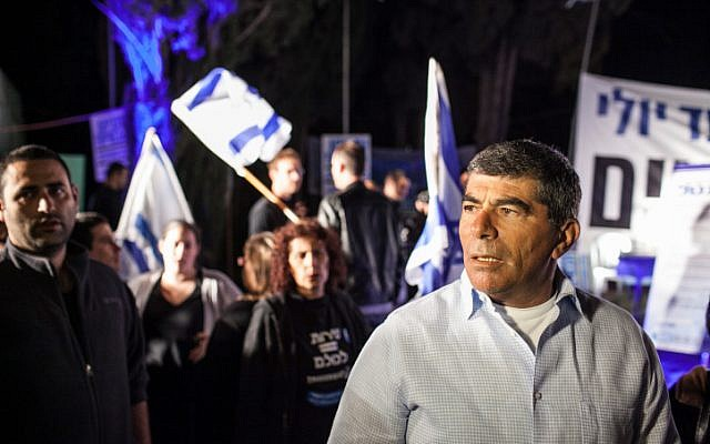 Former IDF chief of staff Gabi Ashkenazi in April, 2012. (photo credit: Noam Moskowitz/Flash90)