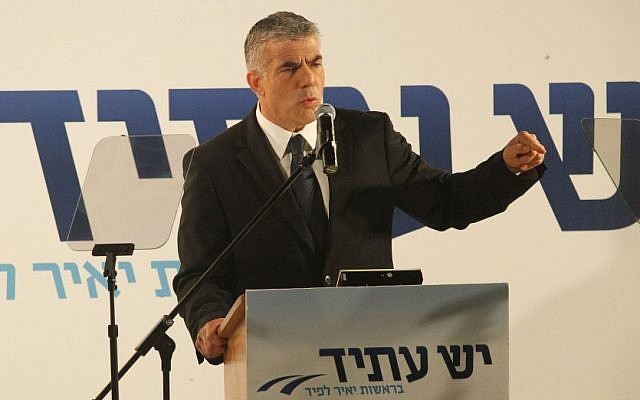 Yesh Atid party founder Yair Lapid  (photo credit: Meir Partush/Flash 90)