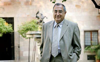 Joaquim Nadal i Farreras. Nadal was a professor of history in the University of Girona and mayor of the city. (photo credit: Jordi Bedmar)