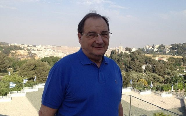 Abraham Foxman (photo credit: Raphael Ahren/The Times of Israel)